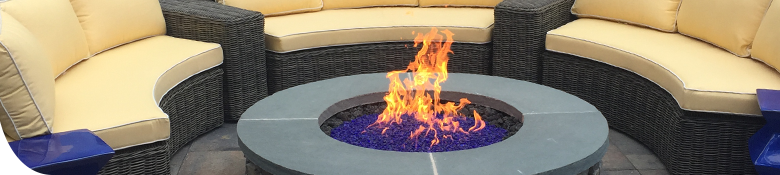 Firepits can help extend your outdoor season! Call Pemberton Appliance to get yours!