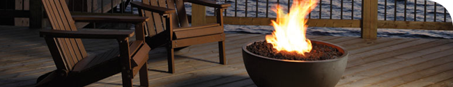 Fireplaces can help you enjoy your patio longer every year.