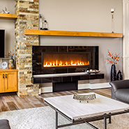 Gas Fireplaces provide suplimental heat and add ambiance to any room! Get yours from your local experts at Pemberton Appliance!