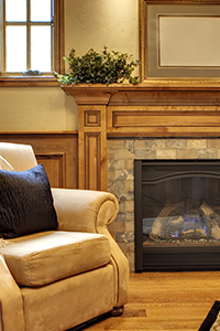 We can install your new gas fireplace today! Give us a call.