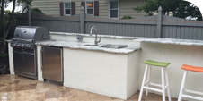 Do you want an outdoor kitchen? Call Pemberton Appliance today and we can design and build you the outdoor kitchen of your dreams!