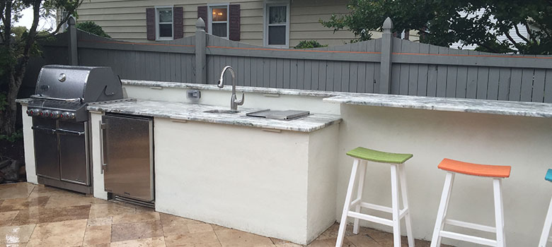 custom outdoor kitchen design build weber salisbury md