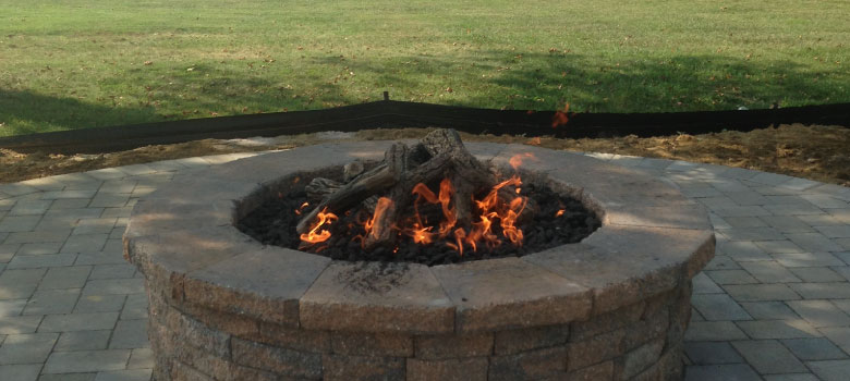 Enjoy your Outdoor Space more with a gas-fired fire pit!