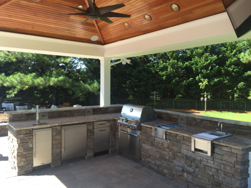 Salisbury Custom Outdoor Kitchen Design Amp Build Weber