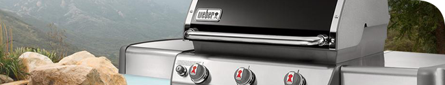 Weber gas grills are efficient and reliable grilling systems.